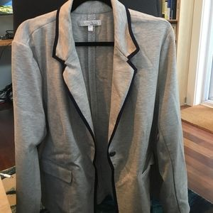 5/$25 Ellen Tracy Grey Blazer